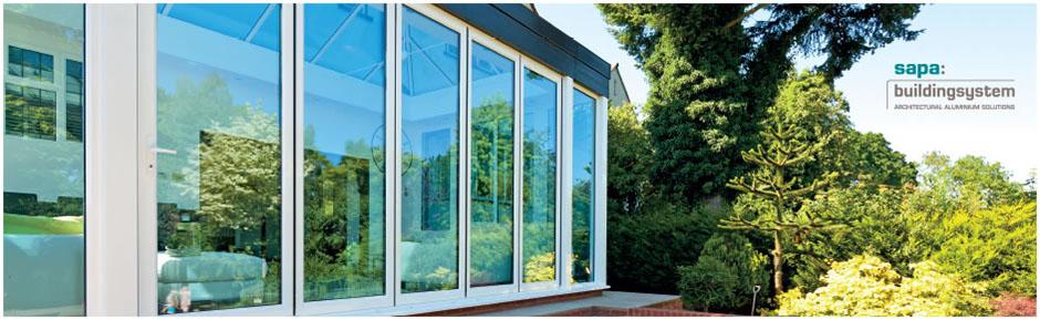 Sapa Crown Bifold Aluminium Sliding Folding Doors Aluminium Bifold Doors - Nova Group Ltd - Double Glazing Systems & Sapa Crown Bifold Aluminium Sliding Folding Doors Aluminium Bifold ...