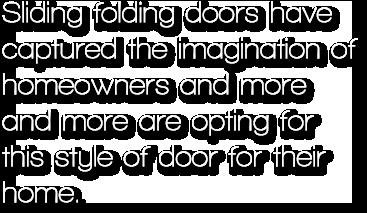 Aluminium Folding Sliding Doors Bifold Doors Sapa
