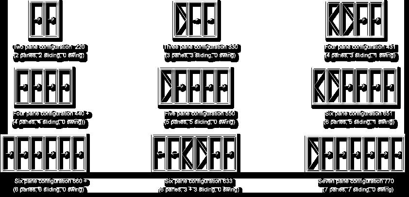 Folding sliding doors bifold doors sapa dualfold nova group