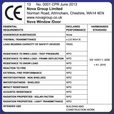 Ce Marking Nova Group Limited